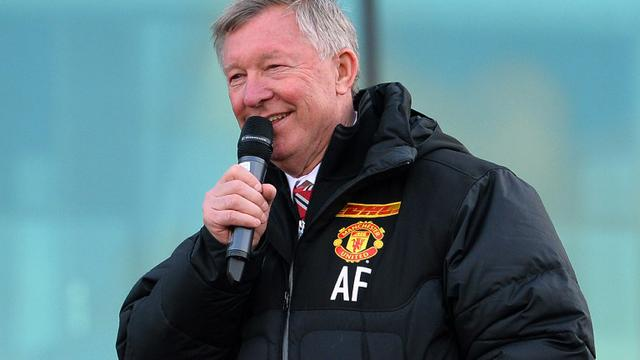 Alex Ferguson (AFP PHOTO/PAUL ELLIS)