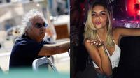 Flavio Briatore berpacaran dengan mahasiswi berusia 20 tahun (Marca)