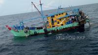 Kapal pencuri ikan. Dok Kementerian KKP