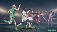 Trivia - Top Scorer Liga Indonesia Sepanjang Masa (Bola.com/Adreanus Titus)