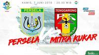 Liga 1 2018 Persela Lamongan Vs Mitra Kukar (Bola.com/Adreanus Titus)