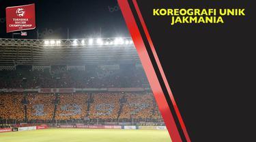Sekitar 45 ribu The Jakmania memberikan dukungan langsung untuk Persija Jakarta di Stadion Utama Gelora Bung Karno, Minggu (8/5/2016).