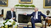 Pertemuan ini terjadi di tengah pergolakan besar dalam politik Israel dan meningkatnya kecemasan Tel Aviv atas upaya AS untuk memasuki kembali kesepakatan nuklir Iran (AP)