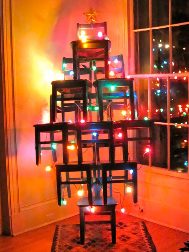 6 Ide Pohon Natal Paling Kreatif (sumber: christmas365greetings)