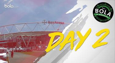 Jurnalis Bola.com berkesempatan melihat Stadion Utama Bayern Leverkusen, BayArena