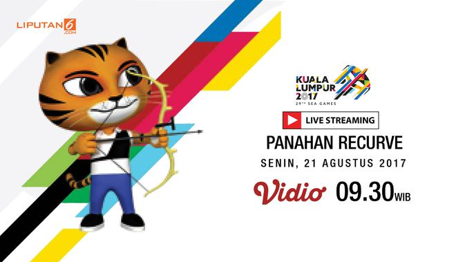 Saksikan Live Streaming Panahan Team Recurve Sea Games Bola Liputan6 Com