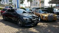 "Mercedes-Benz Car Community (MBCC) yang merupakan komunitas keluarga pengguna dan penggemar Mercedes-Benz menggelar ""Sunday Benz"". (Istimewa)"