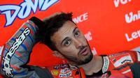 Pembalap Ducati Corse, Andrea Dovizioso finis di urutan keenam MotoGP Argentina 2018. (Twitter/Ducati Motor)