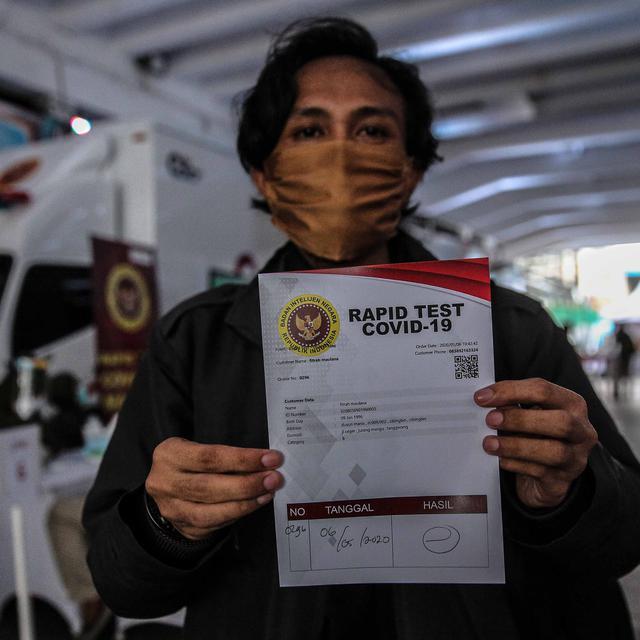 Rapid Test Corona Covid 19 Di Jakarta 3 155 Warga Dinyatakan Positif News Liputan6 Com