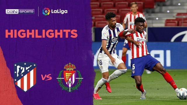 Berita video highlights La Liga 2019-2020 antara Atletico Madrid melawan Real Valladolid yang berakhir dengan skor 1-0, Minggu (21/6/2020) dini hari WIB.