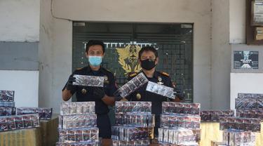 Bea Cukai Gresik Amankan 560 Ribu Batang Rokok Ilegal Dalam Dua Penindakan