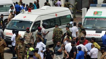 99 Orang Tewas dalam Ledakan Gereja dan Hotel di Sri Lanka