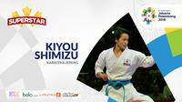 Superstar Asian Games, Kiyou Shimizu. (Bola.com/Dody Iryawan)