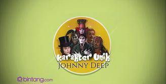 Johnny Depp terlahir dengan nama John Christopher Depp. Ia terkenal karena kemahirannya memerankan beraneka ragam tokoh dengan karakter yang berbeda-beda. Seperti apa Karakter dan Keunikan dari Johnny Deep? Yuk, simak dan lihat, bintang.com rangkumka...