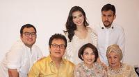 Raline Shah dan keluarga (instagram/@ralineshah)