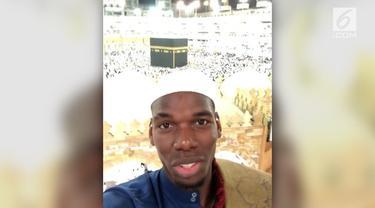Gelandang asal Prancis, Paul Pogba, menyambut Bulan Suci Ramadan dengan memutuskan umrah ke Tanah Suci Mekah.
