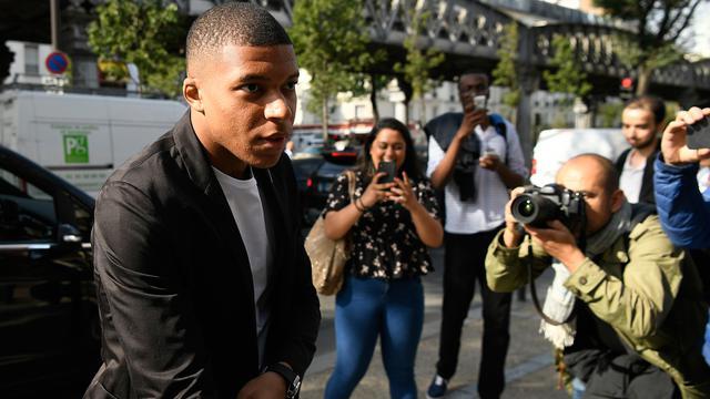 Penyerang Paris Saint-Germain, Kylian Mbappe