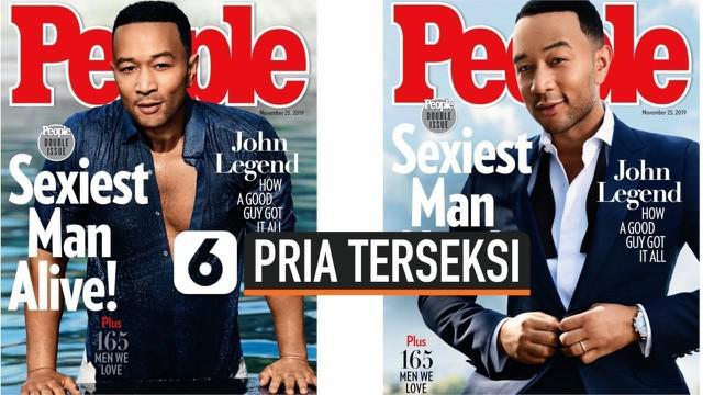Penyanyi dan Aktor, John Legend, didaulat menjadi pria terseksi versi majalah People. Namun, gelar ini disambut senang dan sedih oleh John, karena banyak tekanan disaat yang bersamaan.
