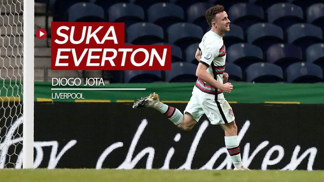 Berita video cerita singkat Diogo Jota, pemain anyar Liverpool, yang pernah mengungkapkan dirinya suka dengan permainan dan semangat dari Everton.