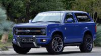 Ford Bronco nantinya akan memiliki desain yang terinspirasi dari versi orisinil yang lahir pada 1965 dan versi pamungkasnya pada 1996.