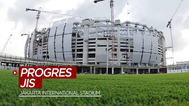 Berita video progres pembangunan Jakarta International Stadium menurut Manajer Proyek JIS, Arry Wibowo.