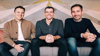 Ki-Ka: Mike Krieger, Adam Mosseri dan Kevin Systrom (screenshot via Instagram Kevin Systrom)