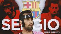 Barcelona - Sergio Busquets (Bola.com/Adreanus Titus)