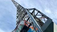 Seperti ini penampakan crane yang disulap menjadi apartemen unik di Amsterdam. (Foto: Instagram @yays_amsterdam)