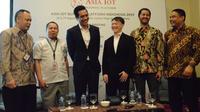 Press Briefing Asia IoT Business Platform Indonesia 2019. Liputan6.com/Linda Fahira Putri