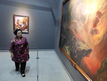 Megawati Kunjungi Pameran Lukisan Kepresidenan