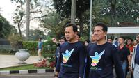 MenPAN-RB Asman Abnur bersama Wali Kota Bogor Bima Arya Sugiarto. (Liputan6.com/Achmad Sudarno)