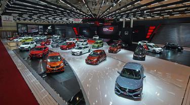 Booth Honda di GIIAS 2017