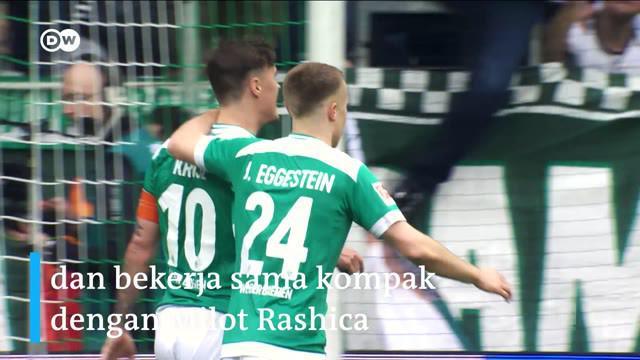 Berita video mengenal secara singkat striker haus gol Werder Bremen, Max Kruse.
