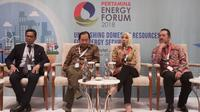 """Pertamina Energy Forum (PEF) 2018 resmi digelar hari Rabu (28/11) dengan tema """"Unleashing Domestic Resources for Energy Security""""."""