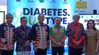 Dalam diskusi Pentingnya Penanganan Diabetes para pakar membicarakan langkah-langkah yang harus diambil agar kita lebih waspada terhadap diabetes, sebelum terkena penyakit penyertanya seperti jantung dan stroke. (Fitri Syarifah/Liputan6.com)