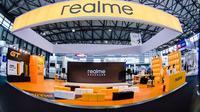 Booth Realme di ajang MWC 2021 Shanghai. (Foto: Realme)