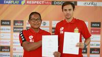 Paul Munster menggantikan posisi Alfredo Vera yang dipecat Bhayangkara FC. (dok. Bhayangkara FC)