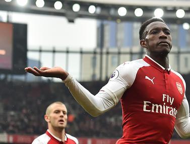 FOTO: Danny Welbeck Gemilang, Arsenal Bungkam Southampton