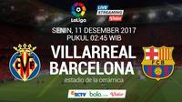 La Liga Villarreal Vs Barcelona (Bola.com/Adreanus Titus)