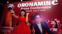 Haruka Nakagawa menjadi duta produk Oronamin C (Foto: Dokumentasi Otsuka)