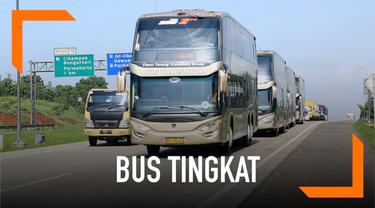 Tol Trans Jawa sedang naik daun. Bagaimana rasanya menjajal tol Trans Jawa dengan naik bus tingkat? Tonton video berikut ini.