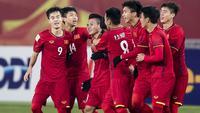 Timnas Vietnam U-23 di Piala AFC U-23 2018. (Bola.com/Dok. AFC)