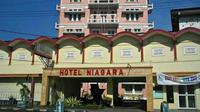 Potret Hotel Niagara Malang dari depan. (Dok. Instagram @hotelniagaramalang/ https://instagram.com/hotelniagaramalang?igshid=1wa4rjxlgs6u9/ Dinda Rizky)