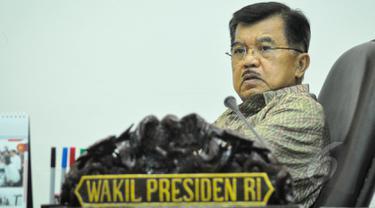 Wapres Jusuf Kalla (Liputan6.com/Faizal Fanani)