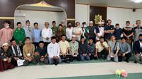 Dubes RI untuk Jepang Heri Akhmadi meresmikan Masjid NU At Takwa di Koga Ibaraki, Jepang pada Selasa (20/7/2021). (Photo credit : KBRI Tokyo)
