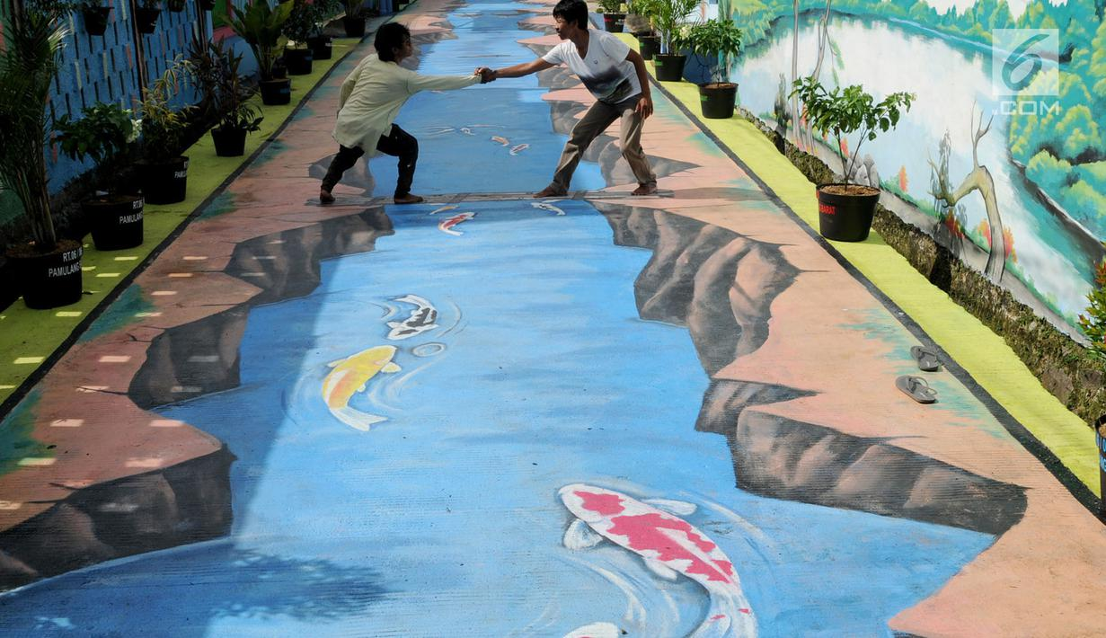 Mural 3d Jalanan