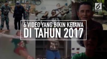 Sejumlah video menjadi viral di media sosial selama tahun 2017. Mulai dari aksi yang lucu hingga tarian yang tidak biasa.