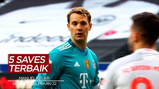 Berita Video Melihat Aksi Kiper Bayern Munchen, Manuel Neuer dan 4 Saves Terbaik Bundesliga Pekan 22