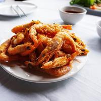 Ilustrasi udang goreng./Copyright pixabay.com/April Kim