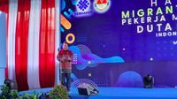 Prabowo Subianto sedang berhalangan hadir dan diwakili oleh Wakil Menteri Pertahanan, Sakti Wahyu Trenggono